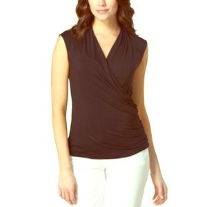 VINCE CAMUTO Wrap Top NWT